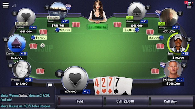 WSOP Poker Mobile